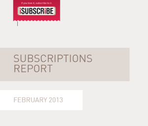 isubscribe magazine subscriptions report